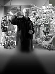 De beeldhouwer met de trillende handen by taisteng