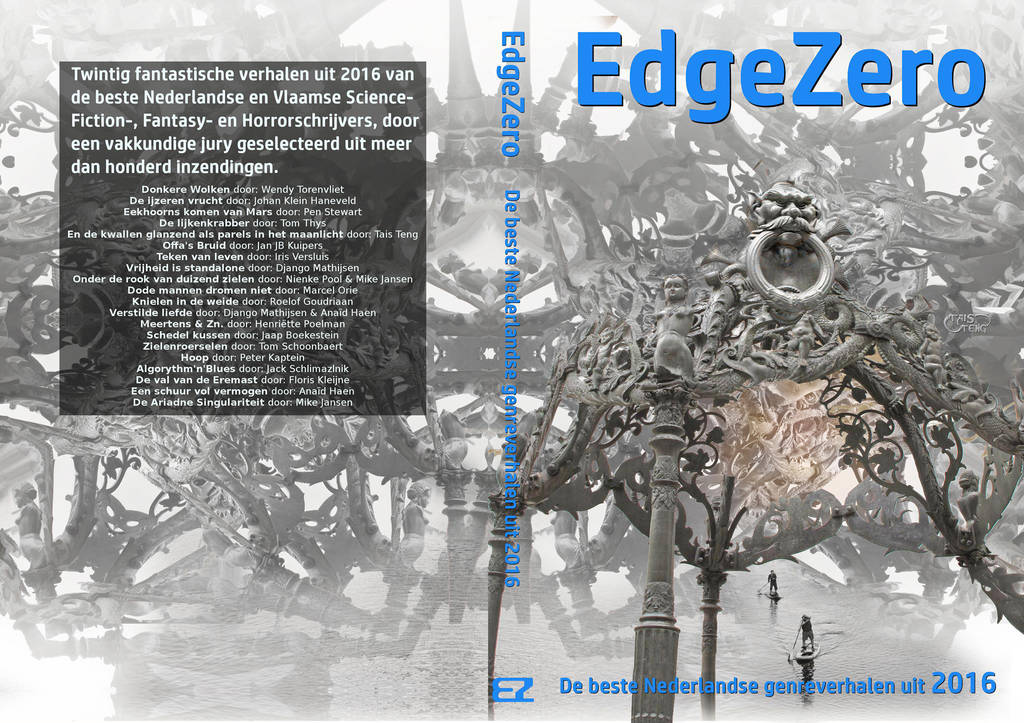Cover for Edge Zero paperback by taisteng