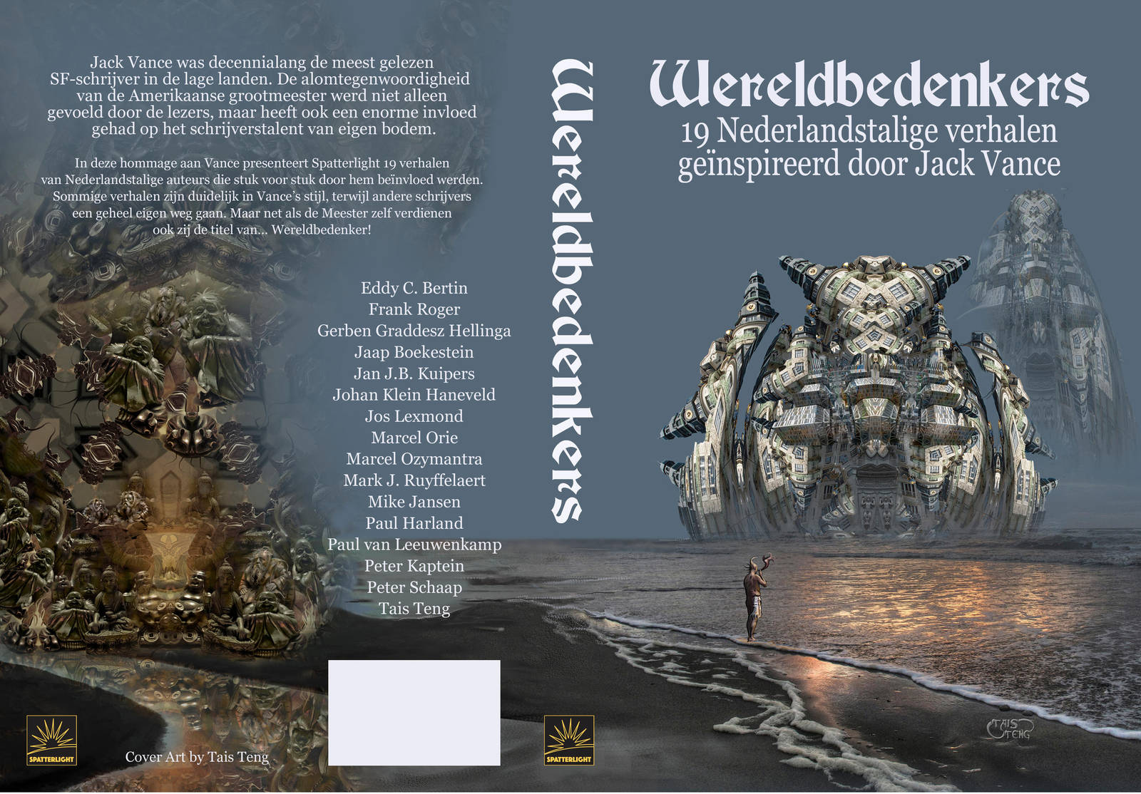 Cover for Dutch Jack Vance tribute collection by taisteng