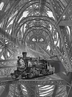 Steampunk - The Brunel Express London - New York by taisteng