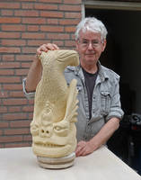 Monster fish in sandstone by taisteng