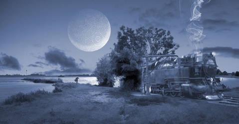 De maanlichtexpress by taisteng