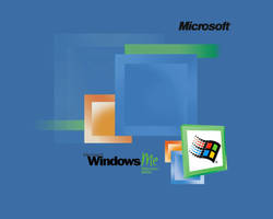 Windows ME background by PotassiumMCR