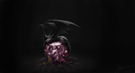 Dragons do love their treasures by photofisken