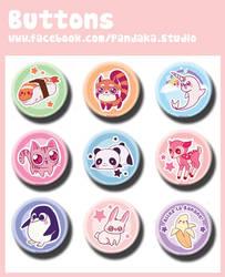 00 Pandaka buttons 3 by Silveril