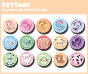 00 Pandaka buttons 4 by Silveril