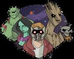 Guardians of the Galaxy by GeekyAnimator