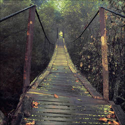 Autumn bridge by KARRR