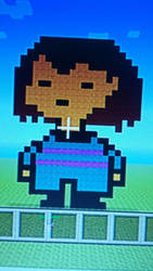 Frisk Pixel Art by 8-Byt