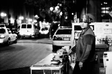 Street Vendor by Kompakt