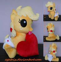 Baby Applejack by agatrix