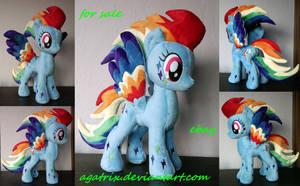 Rainbow Power Dash for sale! by agatrix