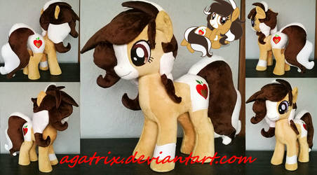 OC Honey Crisp plush by agatrix