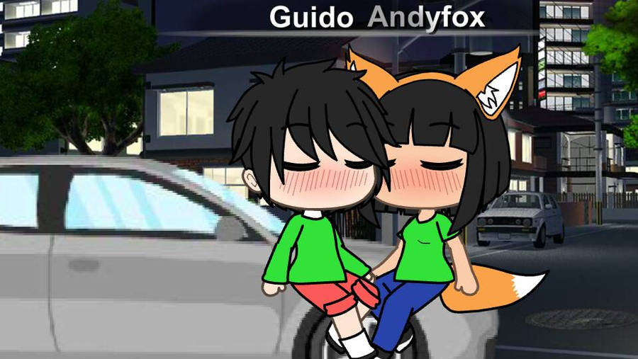 Andyfox and Guido  by AndyfoxReshiram03