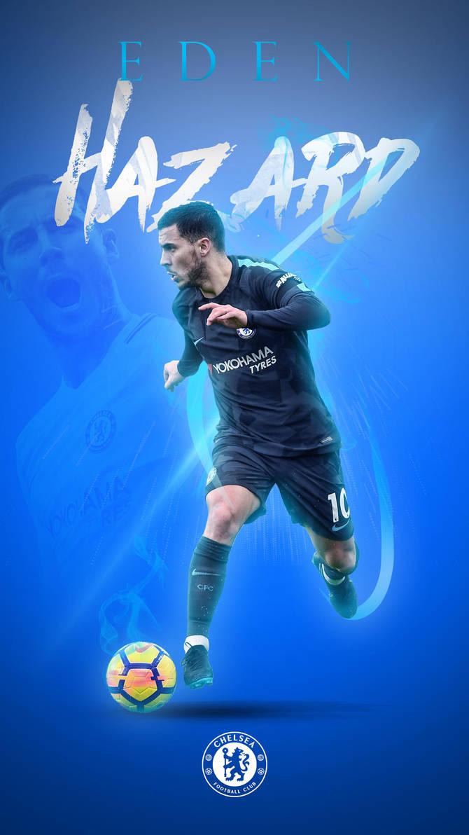 Eden hazard phone wallpaper 2017 2018 by graphicsamhd on - Chelsea wallpaper 2018 hd ...