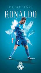Cristiano Ronaldo Phone Wallpaper 2017/2018 by GraphicSamHD