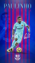 Paulinho Phone Wallpaper 2017/2018 by GraphicSamHD