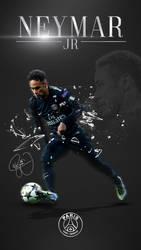Neymar Jr. Phone Wallpaper 2017/2018 by GraphicSamHD