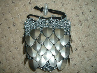 Scalemail dice bag by Ojive