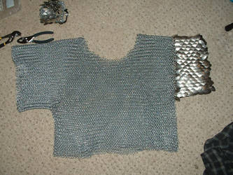 Finished Chainmail Shirt by Ojive