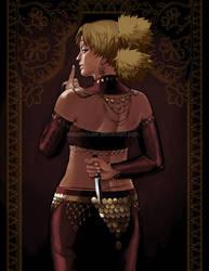 Blood Dancer: Temari by mausmouse