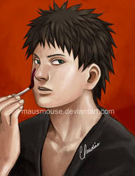 Kankuro: Face Paint by mausmouse