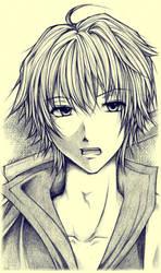 Free Sketch_Niku-niku by Asielchan