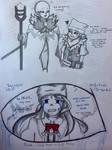 {R} Wenyu and Sans by Akuma-Mana61