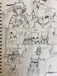 Diedre!Tale Mini Comic: Haphazard Remembrance Pg 1 by Akuma-Mana61