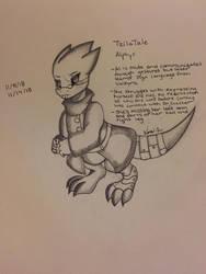 TzilaTale: Alphys by Akuma-Mana61