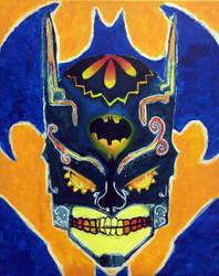 Batman in Progress by juanDanielgarcia