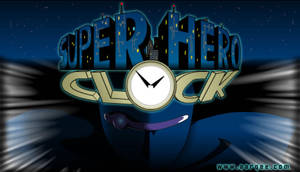 Super Hero Clock poster by jessthedragoon