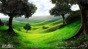 Peaceful Meadow by jessthedragoon