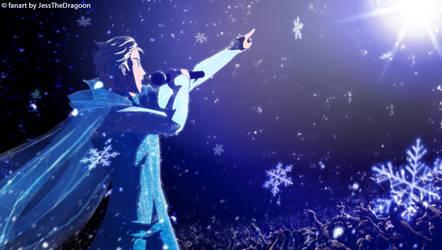 Genderbend Elsa Rock Concert by jessthedragoon