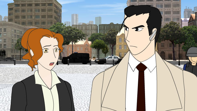 Super Hero Clock Episode 1 part 4 WIP screenshot by jessthedragoon