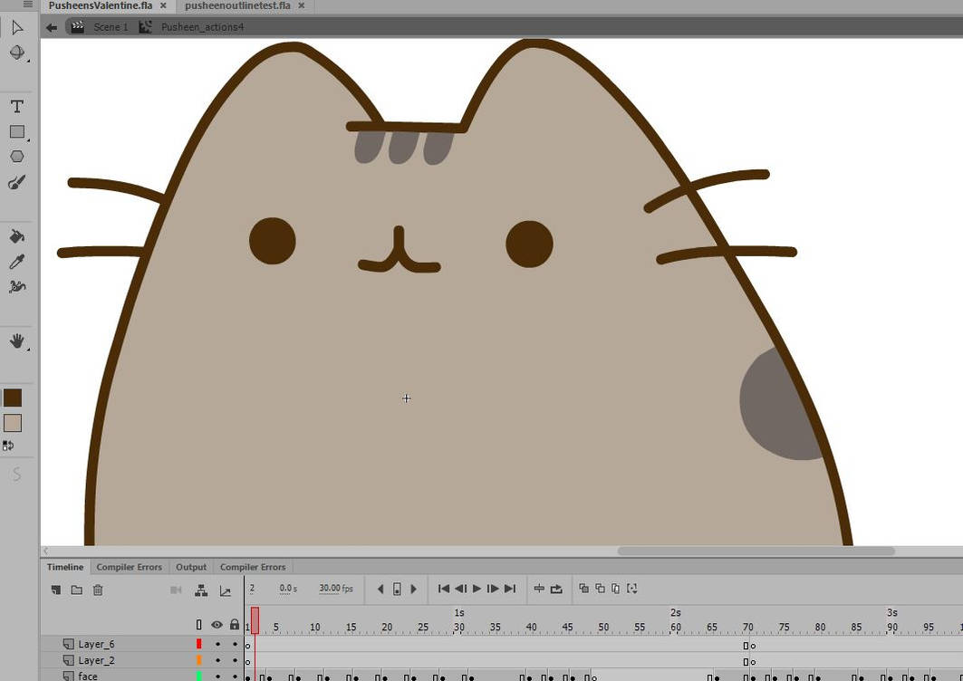 Pusheen WIP by jessthedragoon