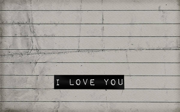 i love you. by lovelamp