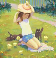 Sunny day by Elijah-Myr