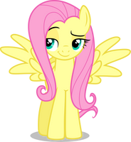 Fluttershy - Sweet Smile (Wings) by CenCerberon