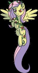 Evil Fluttershy by CenCerberon