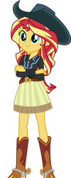 Cowgirl Shimmer by CenCerberon
