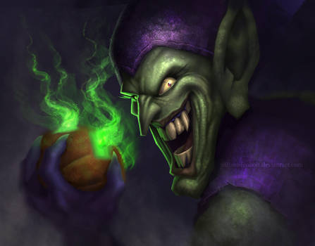 Green Goblin by WilliamFenholt