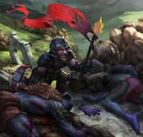 Dwarf Warrior by WilliamFenholt