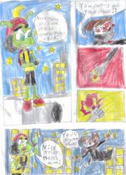 Shadow Kid vs The Hunimals P2 by Silver-Ninja