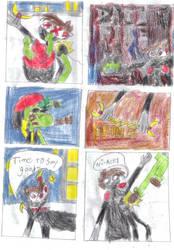 Shadow Kid vs The Hunimals P3 by Silver-Ninja