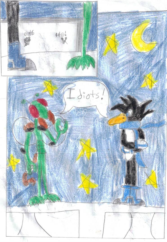 Shadow Kid vs The Hunimals End by Silver-Ninja