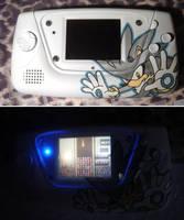 Silver Game Gear by Sega-Club-Tikal
