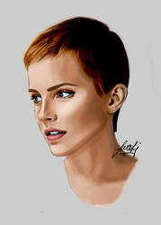 Emma Watson by SaraLjosdal