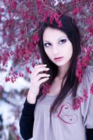 Violet Winter Glaze by Grebeny