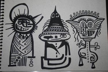 3 figuras by CesarSenatore